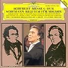 Schubert : Messe G-Dur / Schumann : Requiem f�r Mignon