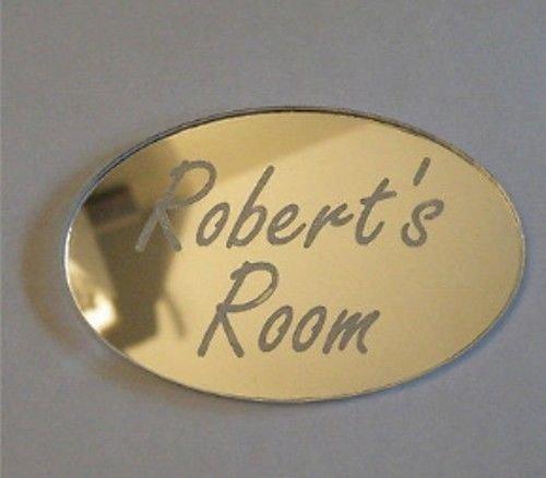 Personalizado puerta Nombre Placa niño niñas Dormitorio