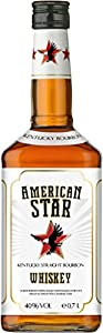 American Star Bourbon Whisky 40% Vol. 70cl bottle by American Star