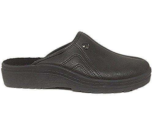 Foster Footwear ,  Damen Herren Pantoletten Grau