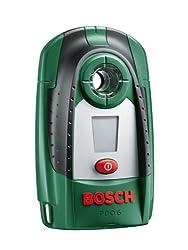 Bosch DIY Digitales Ortungsgerät PDO 6, Batterie, Karton (Erfassungstiefe Stahl/ Kupfer/ stromführende Leitungen: max. 60/ 50/ 30 mm)
