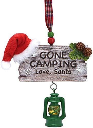 Camping Tree Ornament Weihnachtsdekoration zum Aufhängen, 10,2 cm