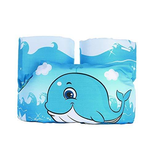 ACMEDE Schwimmflügel für Kinder Schwimmhilfe für Kleinkinder von 2-6 Jahre, 15-30kg Kinderschwimmwes (Blau - Kleiner Wa)