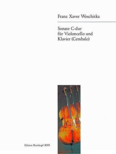 Sonate C-dur für Cello und Klavier (EB 8093)