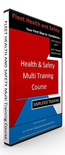 Health and Safety 5 X PK Multi Course Training Presentation on USB Memory Stick