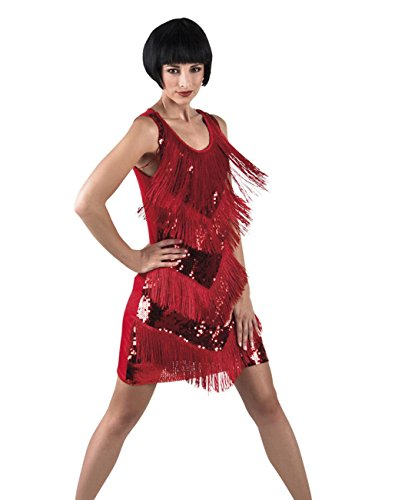Boland 87145 Erwachsenenkleid Flapper Chicago, (Kleid Echte Flapper)