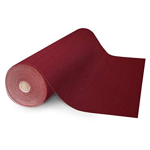 Floori® Nadelfilz Teppich, GUT-Siegel, emissions- und geruchsfrei, wasserabweisend | Größe wählbar (200x200cm)
