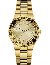 Guess Damen-Armbanduhr Analog Quarz Edelstahl W0404L1