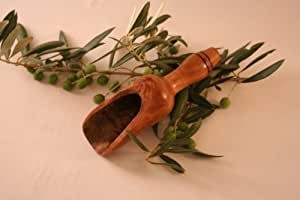 Pelle à farine en bois d'olivier