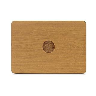 zvrua Eiche PU Leder Laptop-Hüllen für Apple MacBook Air Pro Retina 11121315mit Touch Bar Neu Braun Braun