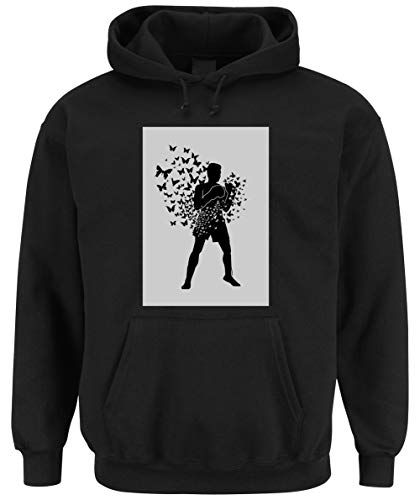 Certified Freak Float Like Hooded-Sweater Black L -