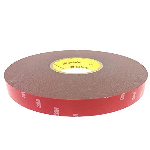 DonDo 3M 4229P doppelseitiges Klebeband Montage Klebestreifen Klebepad 20mm x33 m