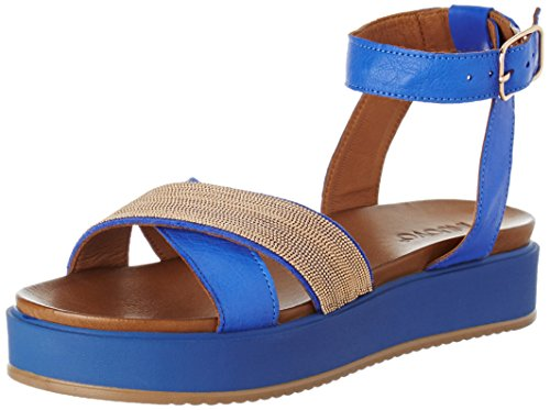 Inuovo 7460, Sandales Bride Cheville Femme Bleu (Royal Blue)