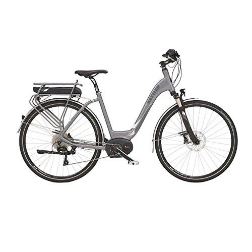Traveller E Light E-Bike ER Citybike 13,8 Ah frosted steel matt 2016