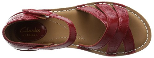 ClarksTustin Sahara - Sandali  donna Rosso (Red Leather)