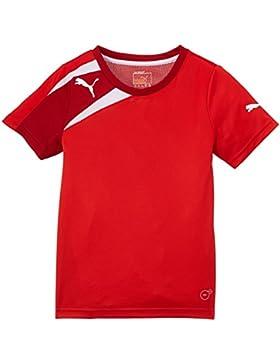Puma Spirit Training - Camiseta de Equipación de Fútbol para Niños, color rojo/rojo / blanco, talla 16 Años (Talla...