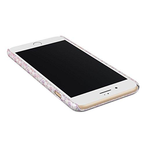Cover iPhone 6 / 6s Blu Marmo, BURGA Azzuro Turqoise Teal Moroccan Tile Mosaico Design Sottile, Guscio Resistente In Plastica Dura, Custodia Protettiva Per iPhone 6 / 6s Case Dusty Sunrise