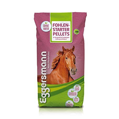 Eggersmann Fohlenstarter Pellets - Leicht verdauliches Pferdefutter für Fohlen mit Magermilchpulver - 25 kg Sack