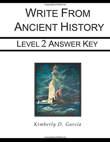 Write from Ancient History Level 2 Answer Key (Write from History Series)