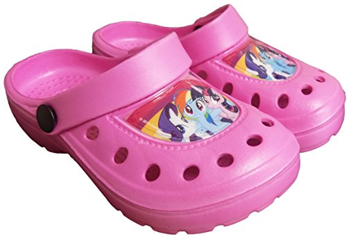 My Little Pony Beach Sandals Clogs Mules Summer Character Shoes Sizes UK 5-11 (5-6 UK Child)