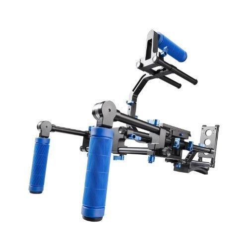 SunSmartTM - Stabilizzatore con doppio supporto spalla/petto per fotocamere e