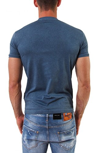 Dsquared2 Herren T-Shirt Blau