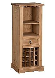 Mercers Furniture Corona 16 Bottle Wine Rack