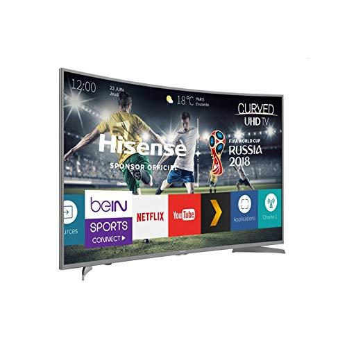 TELEVISION 55' HISENSE 55N6600 LED CURVO 4K UHD HDR SMART