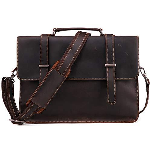 Retro Laptop Messenger Bag Oficina Maletín College