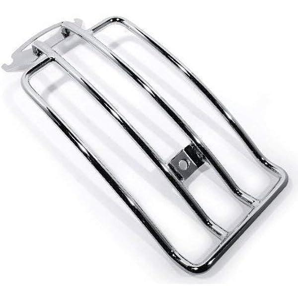 Gepäckträger Chrom Luggage Rack Für Harley Davidson Motorrad Touring Auto