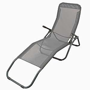 chaise longue transat chaise pliante lounger chaise longue de plage sauna terrasse bain de. Black Bedroom Furniture Sets. Home Design Ideas