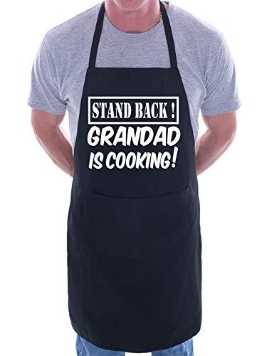 Print4U Stand Back Abuelo Está Cocinando Padres Día