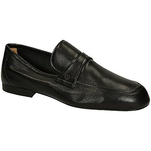 Zapatos mocasines de Gucci mens sin forro cuero suave negro - Número de modelo: 368468 BBD00 1000