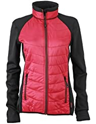 James & Nicholson Damen Jacke Jacke Ladies Hybrid Jacket