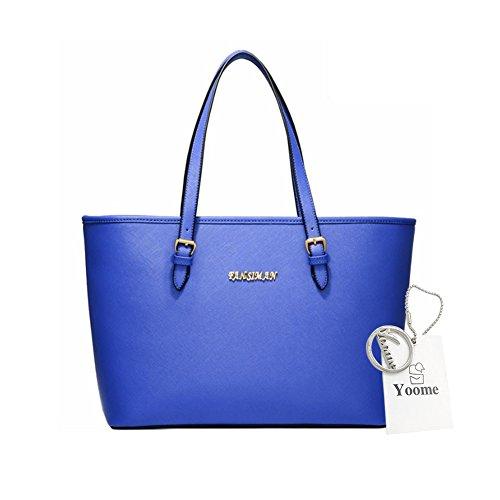 Sacchetti di affari di Yoome per le borse della borsa della borsa delle donne Borse universali per le borse delle borse delle donne per le ragazze - azzurro Blu