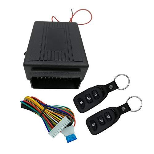 KNOSSOS Universal Car Remote Control Central Door Lock Locking Keyless  Entry System - Black