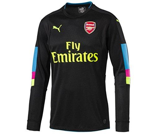 f7db73456 Puma Childrens Kids Football Soccer Arsenal Home Goalkeeper Shirt 2016-2017  - 9-10 Years