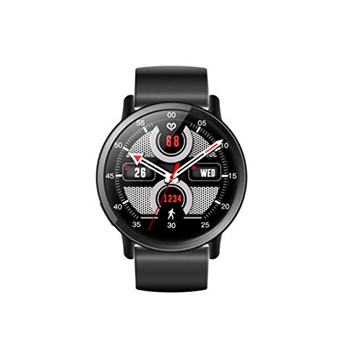 (Bluetooth 4G Smartwatch Telefon 2,03 Zoll RAM 1 GB+ ROM16 GB 8.0MP Kamera 4.0 900mAh IP67 Wasserdicht Eingebaut Smart Watch (Schwarz))