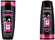 L'Oreal Paris Fall Resist 3X Anti-Hair Fall Shampoo, 360Ml+L'Oreal Paris Fall Resist 3X Conditione