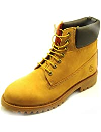 Lumberjack - Zapatillas de Piel para hombre amarillo amarillo -