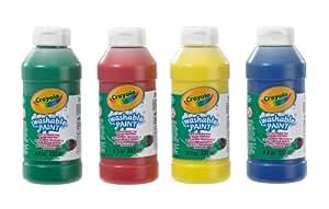 Crayola - 4 Pack Washable Ready Mix Paint
