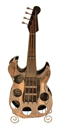 Weinregal Gitarre für 6 Flaschen Metall Flaschenhalter