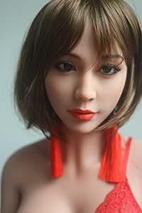 HILDA Poupée de Sexe en Silicone de très haute qualité 145cm, gros seins coupe C, 3 OUVERTURES bouche, vagin et anus