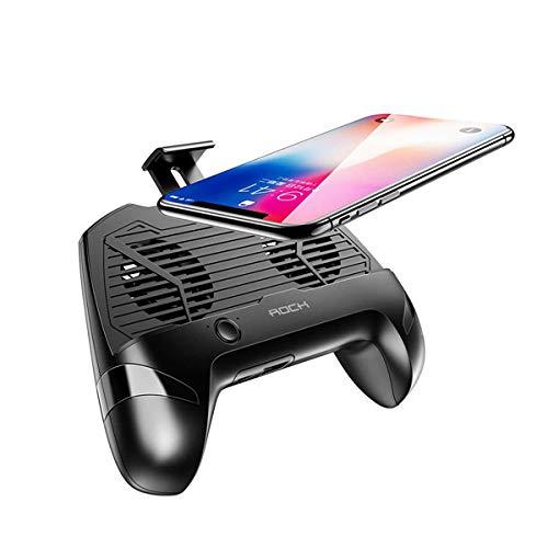 ROUHO Gamepad Controller Porta Telefono Doppia Ventola di Raffreddamento con Banca di Potenza per 4-6.7 inch Telefoni