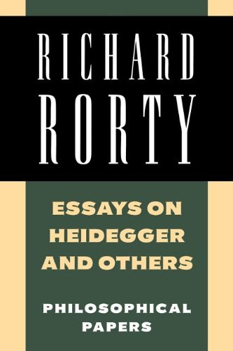 Richard Rorty: Philosophical Papers Set 4 Paperbacks: Essays on Heidegger and Others: Philosophical Papers, Volume 2