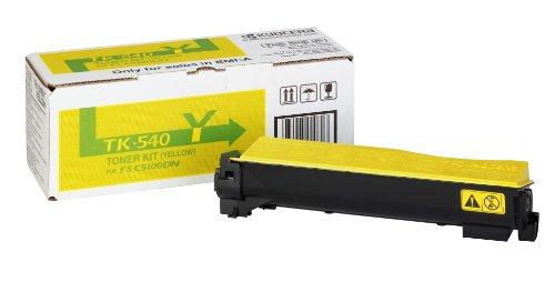 Preisvergleich Produktbild Kyocera TK-540y gelb Kompatibel 4.000 seiten - neu - ein Jahr Garantie