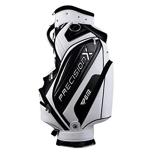 LXYIUN Pgm Golf Standard Tasche wasserdichte Große Kapazität Pakete Multi-Taschen Durable Tasche Golf Clubs Ausrüstungen Mit 3 Farben,White (Nike Schuhe Tasche Golf)
