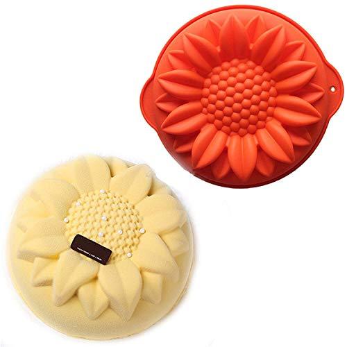 JasCherry Silikon Backform für Schokolade, Cupcakes, Kuchen, Muffinform -
