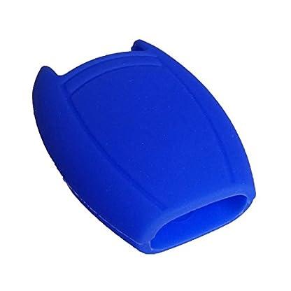 Nicky-Schutzhlle-fr-Benz-2-Tasten-Autoschlssel-Keyless-Smartkey-Hlle-Auto-Schlssel-Silikon-Tasche