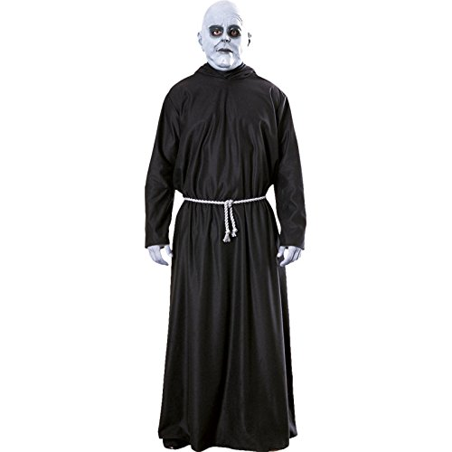 ADULT MENS UNCLE FESTER THE ADAMS FAMILY HALLOWEEN FANCY DRESS COSTUME ALL SIZES